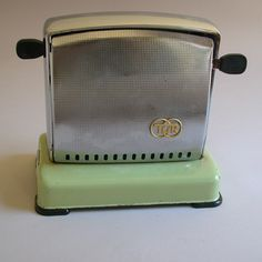 Vintage Tur Toaster in Green, East Germany