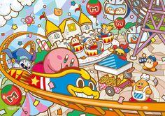 『スプラトゥーン』手帳&スタンプ発売決定、『星のカービィ』新作ジグソーパズルも | インサイド Reminds me of that episode of Kirby Right Back At Ya! called Abusement Park