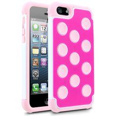 White & Pink iPhone 5 - www.cellairis.com
