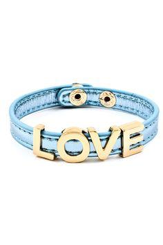 Sky Love Charm Bracelet on Emma Stine Limited