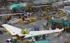 Everett Boeing 777 Final Assembly Line - 2011