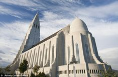 The Hallgrimskirkja in Reykjavik, Iceland is 244 feet tall, is the largest church in the country and took 38 years to complete.