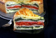 Tourte Milanese – A Meal en Croute...Looks Yummy, probably worth the effort