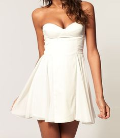 adorable little white dress!