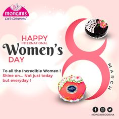 To all the Incredible women Shine everyday! Stay strong forever. #8thmarch Happy International Women