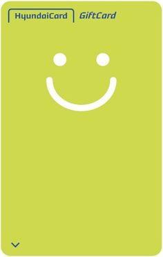 현대카드 Gift카드 미소