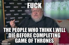 How George R.R. Martin responds to people speculating about his death and health