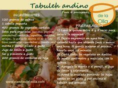 Una insipiración de la tradicional receta árabe, con ingredientes locales y de estación.