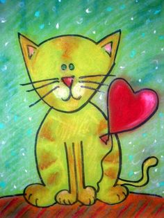 Must Love Cat Art