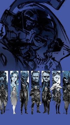 Death Stranding, Characters, Wallpaper Source by ttasndor. 3840x2160 Wallpaper, Star Wars Wallpaper, Metal Gear Solid Series, Character Inspiration, Character Design, Gamer Tags, Kojima Productions, Illustration Art Drawing, Video Game Art