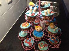 zwemdiploma cupcake's