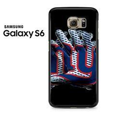 New York Giants Football Gloves Samsung Galaxy S6 Case