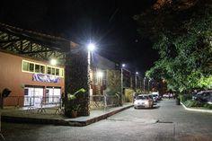 Prefeitura instala lâmpadas de LED no prédio do parque de Itaipava