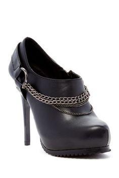 Chain Stiletto Shootie