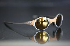 f2d26e8c57 Rare oakley mars leather x-metal gold iridium sunglasses !!! michae jordan