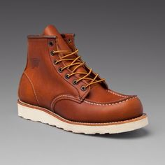"Red Wing 875 6"" moc toe"