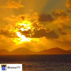 #Repost: 3000 pics on Instagram - my personal favourites: #Sunrise in the Caribbean