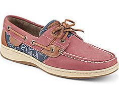 Sperry Top-Sider Bluefish Critter Print 2-Eye Boat Shoe