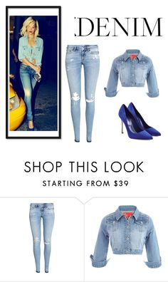 Denim by shavellexoxo on Polyvore featuring H&M and Sergio Rossi