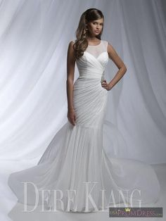 Dere Kiang 11126 Wedding Dress. Dere Kiang 11126 Wedding Dress on Tradesy Weddings (formerly Recycled Bride), the world's largest wedding marketplace. Price $315...Could You Get it For Less? Click Now to Find Out!