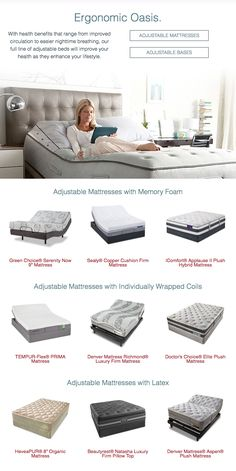 Make Your Bedroom An Ergonomic Oasis By Combining The Best Mattress For You With Adjule