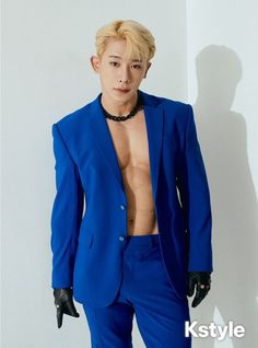 X Fighter, Won Ho, Monsta X Wonho, Couple Outfits, Starship Entertainment, Asian Boys, Handsome Boys, Put On, Blazer