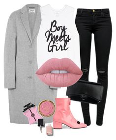"""""""Impact Absorption"""" by chelsofly ❤ liked on Polyvore featuring J Brand, Acne Studios, Givenchy, Lime Crime, Dorateymur, Bond No. 9 and Chanel"""