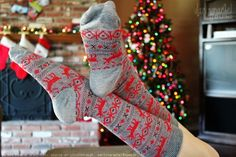Yes. I love Christmas socks. Of socks in general.