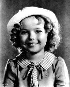 """Child Star SHIRLEY TEMPLE (04/23/1928~02/10/2014) --- Portrait for """"Our Little Girl"""" (1935)  _____________________________ Reposted by Dr. Veronica Lee, DNP (Depew/Buffalo, NY, US)"""