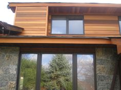 Best Modern Cedar Horizontal Wood Siding Home With Dark 400 x 300