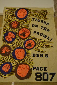 Tiger Den Flag