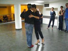 Cours de Tango Intermédiare-Avance Victoria Vieyra et Miguel Gabis