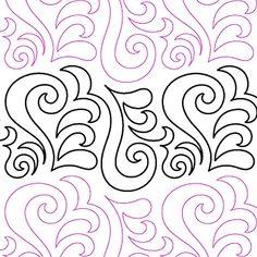 """Curly Q - Paper - 8"""" U4-LC-CQ"""