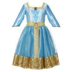Disney Princess Brave Merida Royal Dress, Costume Dress Up, Free Shipping, New #Disney #Dress