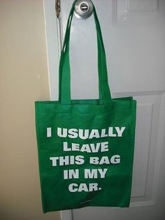 Funny Grocery Bag---Don't forget your grocery bags and let's cut down on… Recycled Fashion, Recycled Clothing, Soda Can Art, Newspaper Dress, Dress Card, Vinyl Projects, Fun Projects, Plastic Spoons, Plastic Bags