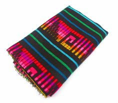 Mexican Fabric aztec fabric tribal fabric by by MexFabricSupplies, $9.50