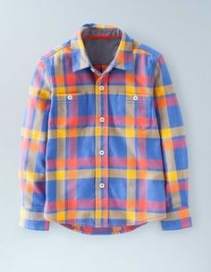 Boys Formal Shirts, Checked Casual Shirts for Boys | Mini Boden UK | Boden