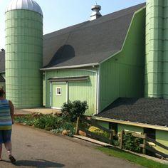Sea Foam Green Barn!!