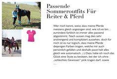 Passende Sommeroutfits für Reiter & Pferd