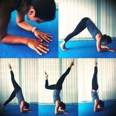 """SwáSthya Yôga Maia no Instagram: """"Desafio 2020: Quer aprender a fazer o Vrishkásana? Pergunte-nos como! 💪💪#vrishkásana #yoga #yogachallenge #swásthyayôga #maia"""" Yoga Challenge, Instagram, Tips"""