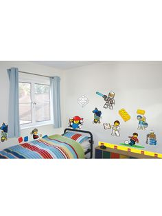 Lego Classic Wall Stickers 25+  pieces