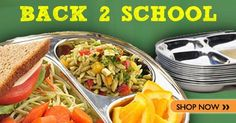 #StainlessSteel #LunchTrays and more!  Check them out here: http://www.naturebumz.com/eco-lunchbox-stainless-steel-tray.html