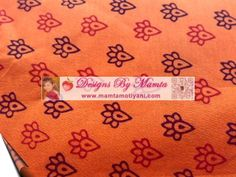 Bagh Print Block Cotton Fabric Print Indian Vegetable Dyes.