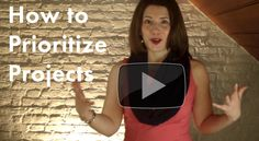 {Biz Productivity Video} How to Prioritize Projects #entrepreneur #focus #strategy  #productivity