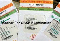 Aadhar For CBSE Examination  #aadharforcbseexam, #aadhaarneed, #aadharincbsepaper