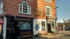 The Bull public house on the corner of Price Street and Loveday Street Birmingham. A real old building.