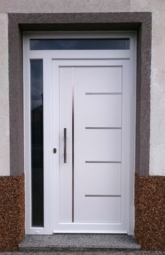 💚 71 good front door design models tips on how to change your front door lock 68 Wooden Front Door Design, Door Gate Design, Room Door Design, House Front Design, House Front Door, House Doors, Modern Entrance Door, Modern Garage Doors, Modern Exterior Doors