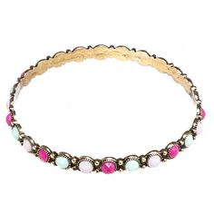 Bead Bangle from Blossom Boutique by Evergreen Enterprises (www.myevergreenonline.com)