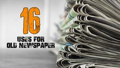 Yesterday's Newspaper Its Still worth Plenty 1.) Newspaper had for years been used as insulation in homes. Shredded and placed in the walls it acted just as the insulation of today does. It was even used to wrap water pipes to help keep them from freezing. 2.) Stuff balls of newspaper in damp shoes or …