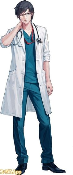 Takeo Harikoto, probably during his internship for neurosurgery. Though not as casually posed.